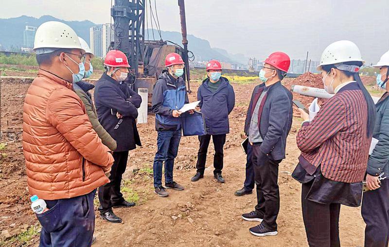 副市长张桥一行调研雷竞技App下载熊猫会展博览馆、北郊熊猫新城项目